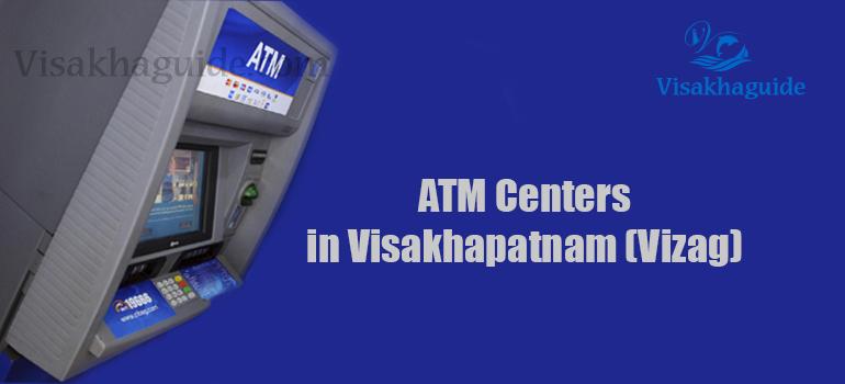 Atm Centers in Visakhapatnam