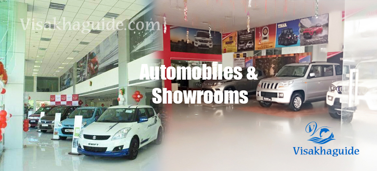 Automobiles Showroom Car Dealers Visakhapatnam