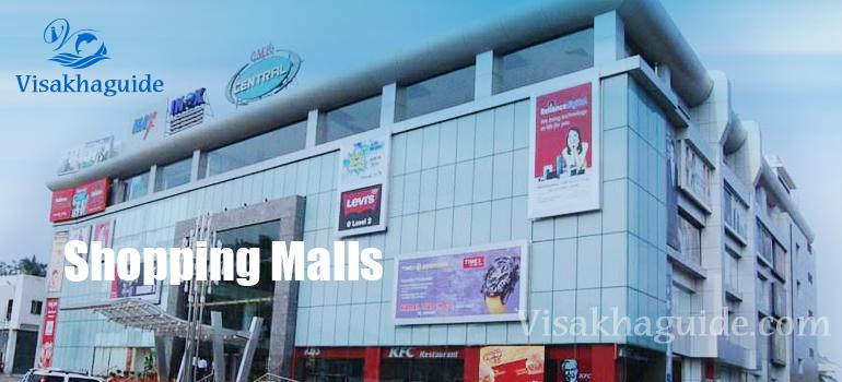 shopping malls visakhapatnam