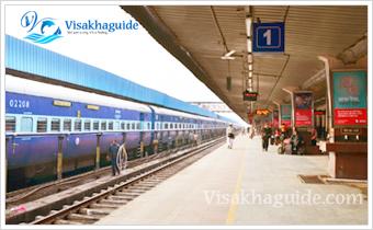 vizag railway station vg