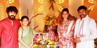 Chiranjeevi Birthday Celebrations and Vinayaka Chavithi Puja