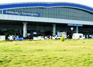 Passenger movement at Vizag Airport