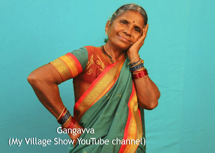 gangavva youtuber my village show vg